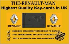 Renault Megane Scenic Clio 3 Button Remote Key Card Brand New ready to Program