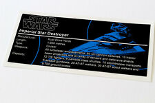 Lego Star Wars UCS Sticker for Imperial Star Destroyer (75055 / 10030)