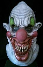 Killer Clown Latex Mask, Horror, Halloween, Haunt Prop, Collectible.