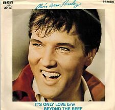 MFD IN CANADA 1980 SP 45 RPM ELVIS PRESLEY : IT'S ONLY LOVE