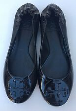 New TORY BURCH REVA BALLET FLATS SIZE 5M Closed Toe Black
