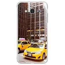 Coque Samsung J3(2016) à motif Silicone Gel qualité FR - New York Taxi
