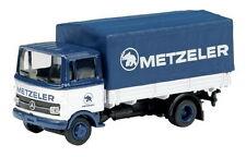"""Mercedes-Benz LP 608 """"Metzeler"""" - 1:87 / H0 Gauge - Schuco (23371)"""