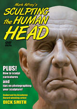 SCULPTING the HUMAN HEAD DVD by Mark Alfrey how-to sculpt clay sculpture
