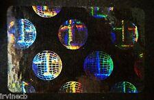 Hologram World Seal Overlays Inkjet Teslin ID Cards - Lot of 25