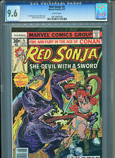 Red Sonja #5 CGC 9.6 (1977) Frank Thorne Marvel Comics White Pages