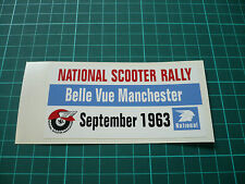 National Scooter Rally Sticker