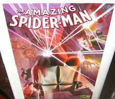 Amazing SpiderMan Marvel Comics 75th Anniversary Promo Poster Alex Ross NEW 2014