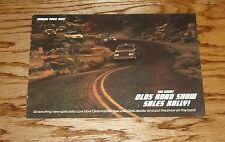 1983 Oldsmobile Hurst Brochure 83 Cutlass Olds Road Show Sales Rally 83