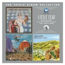 LITTLE FEAT - THE TRIPLE ALBUM COLLECTION (DIXIE CHICKEN/TIME HERO/+) 3 CD NEU
