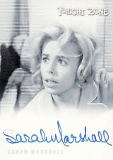 Twilight Zone 50th Sarah Marshall como Ruth Miller A113 tarjeta auto