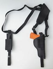 Shoulder Holster FOR S&W SD9VE, SD40VE with Single Mag Pouch Vertical Carry