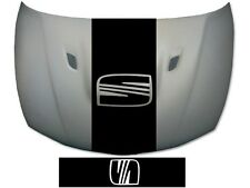 SEAT BONNET STRIPE GRAPHIC IBIZA LEON EXEO GRAPHICS DECALS STICKERS