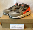 NIKE AIR HUARACHE LE US UK 7 8 9 10 11 12 13 CRIMSON SPORT GREY 318429-080 2013