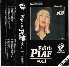 "K7 AUDIO EDITH PIAF ""DISQUE D'OR"" VOLUME 1 (MADE IN JAPAN)"