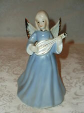 Vintage Enesco Angel Playing a Lute Music Box - Plays 'Fur Elise'