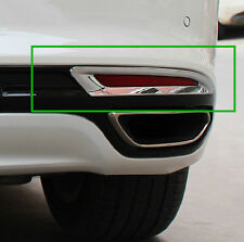 New Chrome Trim Rear Fog Light Cover For Ford Fusion Mondeo 2013 2014 2015 2016