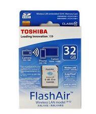 Toshiba Flash Air III W-03 WiFi 32GB CLASS 10 SDHC Wireless LAN Memory SD Card