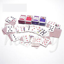 Games Poker Playing Cards Miniature Dollhouse Accessory For Re-ment Figure NEW