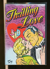 3-d, cómic: thrilling Love 3-d us 3-d Zone
