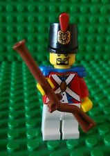 Lego Pirates BRITISH SOLDIER Muscat Army Minifig Minifigure