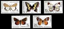 Seltene Schmetterlinge. 5W. UdSSR 1987