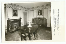 Rochester NY RPPC Campbell-Whittlesey House Dining Area Real Photo Postcard