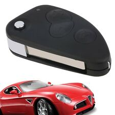 3 Button Flip Remote Key Fob Shell Case Fits For Alfa Romeo 147 156 GT F7