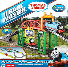 Motorized Railway Thomas and Friends TrackMaster Over Under Tidmouth Bridge Toys