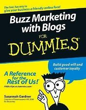 Buzz Marketing with Blogs For Dummies (For Dummies (Business & Personal Finance)