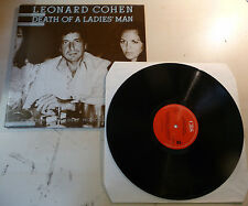 DISCO LP 33 GIRI LEONARD COHEN - DEATH OF A LADIES MAN - CBS 32661