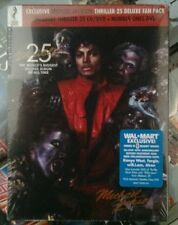 Michael jackson thriller 25th cd number ones dvd usa deluxe fan pack sealed