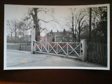 PHOTO  GER LEVEL CROSSING GATE