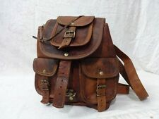 Real Goat Leather Small Size Bag Backpack rucksack bag