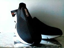 Men's AND1 Slip On Post Game Sneakers SHOES Size 13 NEW Black Breathable Mesh