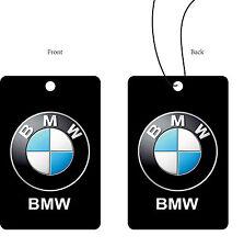1 stück BMW Auto logo Luft Erfrischer Doppelseitig Größe 61x93mm