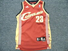 VINTAGE ADIDAS NBA CLEVELAND CAVALIERS LeBRON JAMES SWINGMAN JERSEY YOUTH S
