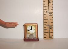 DOLL RE-MENT ACCESSORY MINIATURE TABLE CLOCK 1/6 SCALE FOR DIORAMA