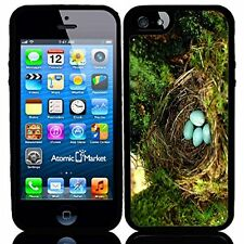 Blue Robin Eggs In Nest For Iphone 6 Case Cover