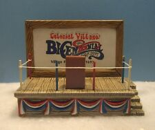Lefton Colonial Village - Election Stand - 10874 - 1996 - New Old Stock