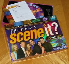 FRIENDS Scene It DVD Trivia Game with real tv show clips