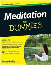 Meditation for Dummies® by Stephan Bodian (2012, Paperback)