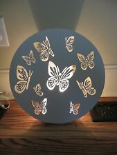 New Pottery Barn Kids Cut out butterfly light up wall decor night sconce lamp