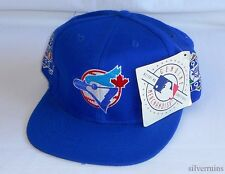 TORONTO BLUE JAYS Vintage Hat 90's Snapback Baseball Cap NWT 1993 World Series