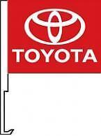 Toyota Clip On Car Flag. Qty 6.   nsw-46