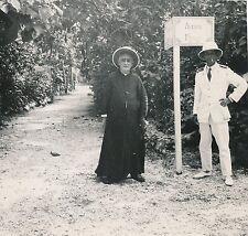 NOUVELLES HÉBRIDES c. 1900 -Colon Militaire Panneau Av France Vanuatu - Div 7836