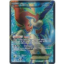 KELDEO EX 142/149 Ultra Rare Star Holo Foil Pokemon Card! FULL ART!