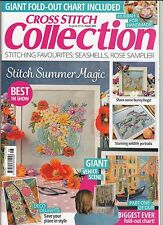 Cross Stitch Collection Magazine Issue 265 August 2016 + Part 1 of Venice Chart