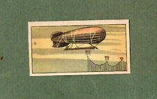 OLD CHINA cigarette card tobacco insert zeppelin type airship air balloon RARE