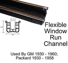 "Universal Window Run Channel Pair - 5/8"" Wide x 9/16"" Tall"